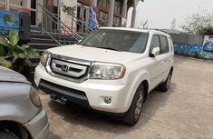 Foreign Used Honda Pilot 2011 Model White