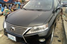 Nigeria Used Lexus RX 2014 Model Black