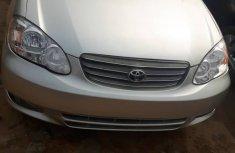 Neatly Used Toyota Corolla 2004 Model