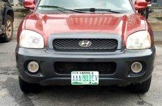 Neatly Used 2004 Model Hyundai Santa Fe