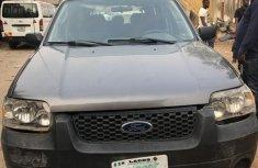 Nigeria Used Ford Escape 2006 Model Gray