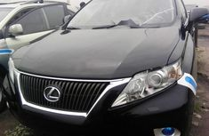 Foreign Used 2010 Black Lexus RX