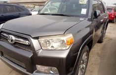 Foreign Used Toyota 4-Runner 2013 Model Gray