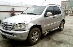 Nigeria Used Mercedes-Benz ML 320 2001 Model Silver