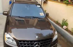 Tokunbo Mercedes-Benz ML350 2012 Model Brown
