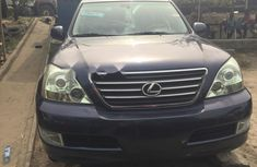 Foreign Used Lexus GX 2006 Model Blue