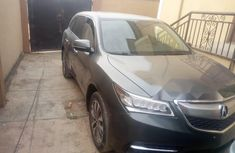 Foreign Used 2014 Grey Acura MDX for sale