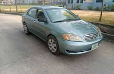 ocally Used 2005 Green Toyota Corolla for sale in Lagos