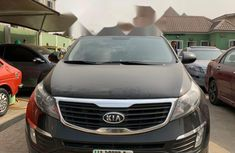 Nigeria Used Kia Sportage 2014 Model Black
