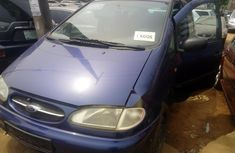 Foreign Used Ford Galaxy 2000 Model Blue