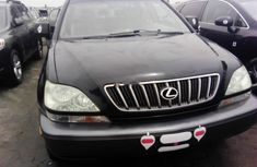 Foreign Used 2002 Black Lexus RX for sale