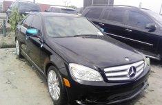 Tokunbo Mercedes-Benz C300 2008 m=Model Black