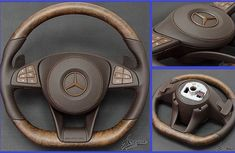 Check out this Nigerian-made customized steering wheel for Mercedes-Benz