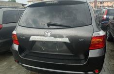 Foreign Used Toyota Highlander 2009 Model Gray