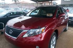 Foreign Used Lexus RX 2012 Model Red