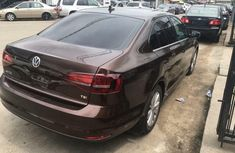 Foreign Used Volkswagen Jetta 2016 Model Brown
