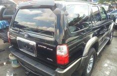 Foreign Used Toyota 4-Runner 2002 Model Black