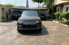 Nigeria Used Land Rover Range Rover Vogue 2014 Model Black