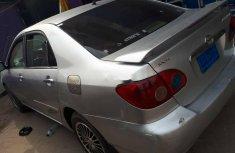 Nigeria Used Toyota Corolla 2006 Model Silver