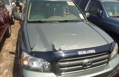 Tokunbo Toyota Highlander 2007 Model Green