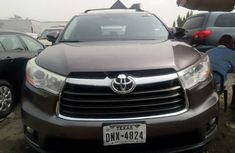 Tokunbo Toyota Highlander 2015 Model Gray