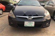 Nigeria Used Honda Accord 2006 Model Black
