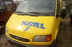 Foreign Used Ford Transit 2000 Model Yellow