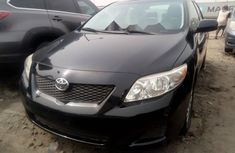 Tokunbo Toyota Corolla 2009 Model Gray