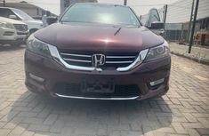 Foreign Used Honda Accord 2014 Model Red