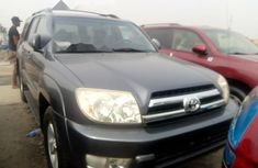 Foreign Used Toyota 4-Runner 2005 Model Blue