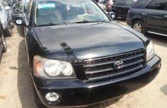 Foreign Used Toyota Highlander 2004 Model Black