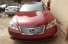 Foreign Used Lexus ES 2012 Model Red