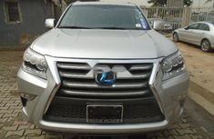 Foreign Used Lexus GX 2015 Model Silver