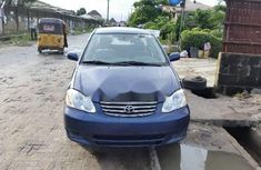 Foreign Used Toyota Corolla 2004 Model Blue