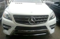 Tokunbo Mercedes-Benz ML350 2015 Model White