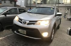 Nigeria Used Toyota RAV4 2014 Model Silver
