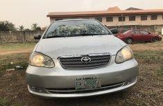 Nigeria Used Toyota Corolla 2005 Model Silver