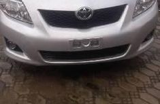 Foreign Used Toyota Corolla 2010 Model Silver