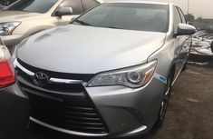 Foreign Used Toyota Camry 2016 Model Silver