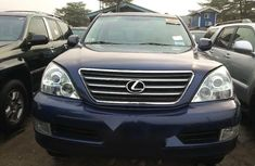 Foreign Used Lexus GX 2009 Model Purple