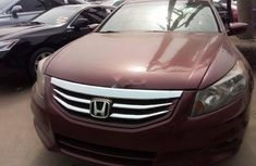 Foreign Used Honda Accord 2010 Model Red