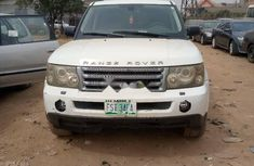 Nigeria Used Land Rover Range Rover 2007 Model White