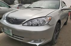 Nigeria Used Toyota Camry 2004 Model Silver