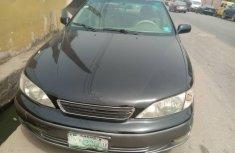 Nigeria Used Lexus ES 2002 Model Black