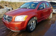 Foreign Used Dodge Caliber 2007 Model Orange
