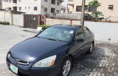 Nigerian Used Honda Accord 2003 Petrol Automatic Black