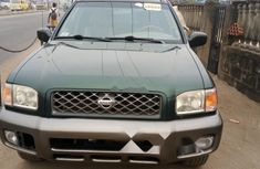 Foreign Used Nissan Pathfinder 2001 Model Green