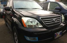 Foreign Used Lexus GX 2008 Model Black