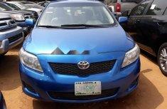 Nigeria Used Toyota Corolla 2009 Model Blue