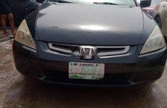 Nigeria Used Honda Accord 2005 Model Black